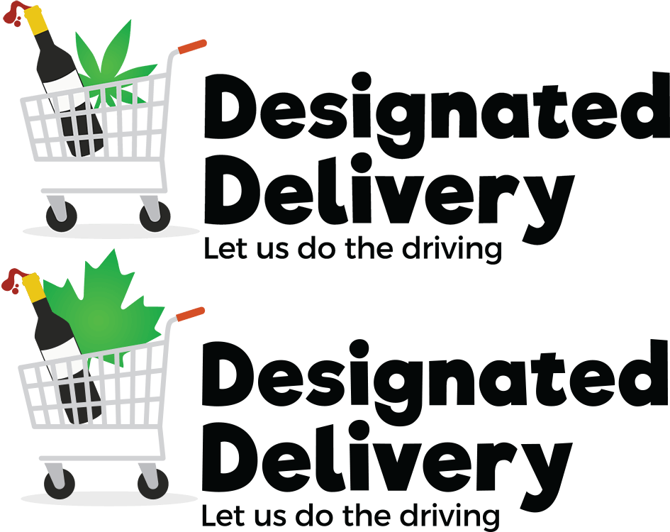 Designated Delivery logo versions