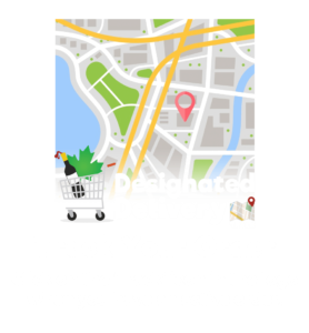 Track your order on the Designated Delivery app